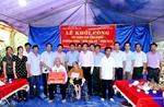 Chương trình Màu hoa đỏ 2018 tặng nhà tình nghĩa tại Bắc Giang