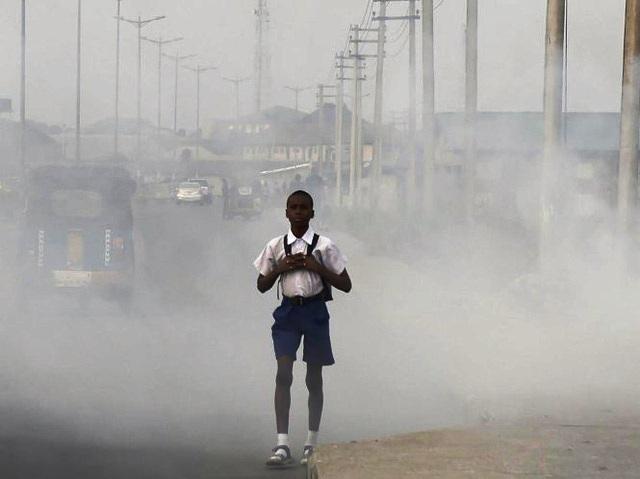 Hơn 90 trẻ em trên thế giới hít thở không khí ô nhiễm hàng ngày