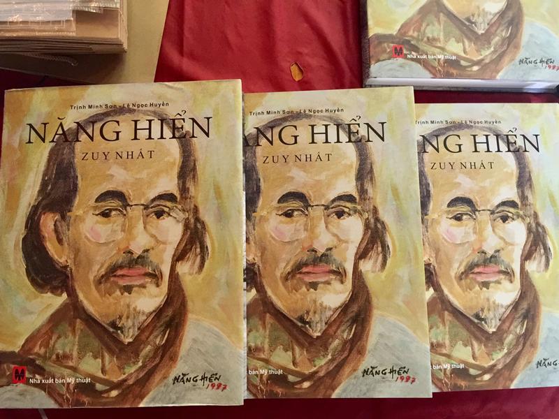 Ra mắt sách về cố họa sĩ Năng Hiển