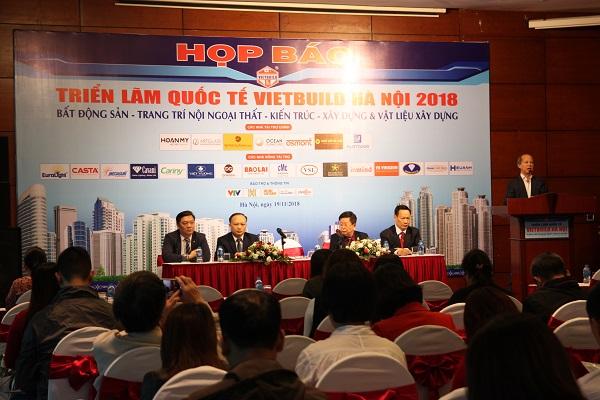Gần 450 doanh nghiệp tham gia Triển lãm Quốc tế Vietbuil 2018 lần 3