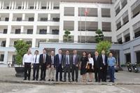 Thúc đẩy hợp tác giữa Cao đẳng Du lịch Huế và Đại học Lạc Sơn Trung Quốc