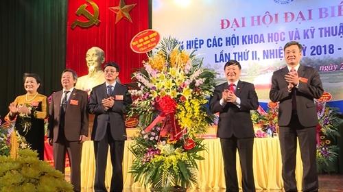 Ông Nguyễn Khắc Hào tái đắc cử Chủ tịch Liên hiệp các hội Khoa học và Kỹ thuật tỉnh Hưng Yên