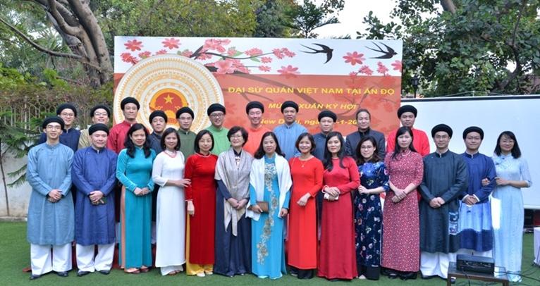 Tết sum vầy của Cộng đồng người Việt Nam tại Ấn Độ