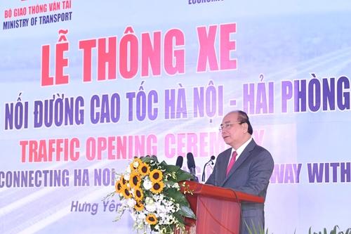 Thông xe cầu Hưng Hà và tuyến đường bộ nối cao tốc Hà Nội – Hải Phòng với cao tốc Cầu Giẽ - Ninh Bình