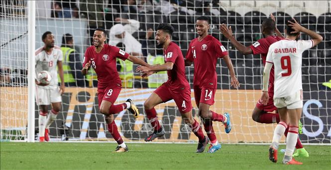Truyền thông châu Á bất ngờ trước chiến thắng của Qatar