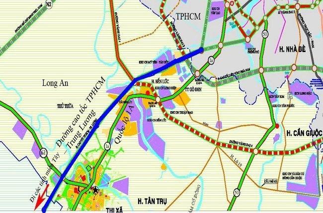 Đẩy nhanh tiến độ triển khai dự án đầu tư xây dựng đường cao tốc Trung Lương – Mỹ Thuận