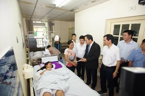 Bệnh viện Việt Đức Nhiều ca nặng do tai nạn giao thông