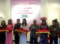 Hơn 90 tác phẩm mỹ thuật, nhiếp ảnh mừng Đảng, mừng xuân 2019