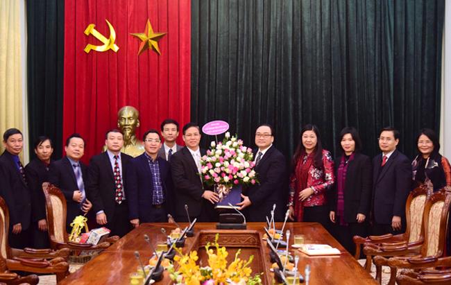 Đại biểu các tôn giáo chúc mừng Đảng bộ TP Hà Nội