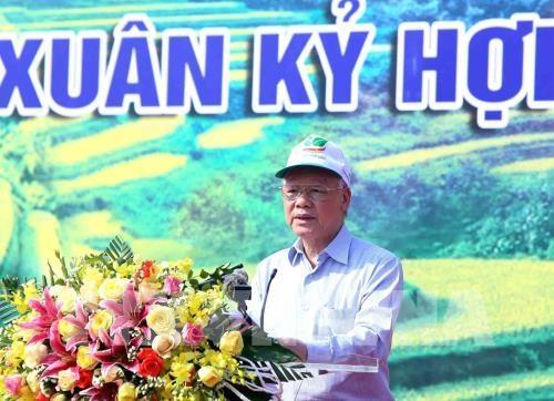 Phát động Tết trồng cây đời đời nhớ ơn Bác Hồ Xuân Kỷ Hợi 2019
