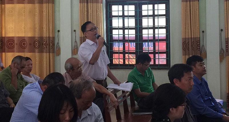 Vĩnh Tường Vĩnh Phúc  Đối thoại với công dân về công trình chùa Già Du