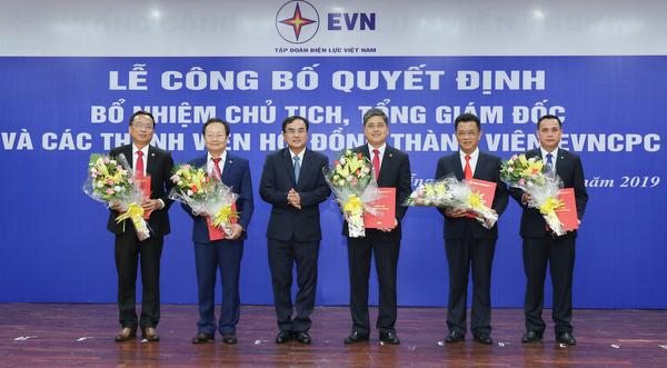 Bổ nhiệm Chủ tịch, Tổng giám đốc và các thành viên HĐTV Tổng Công ty Điện lực miền Trung