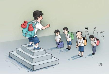 Bạo lực học đường, lỗi của ai