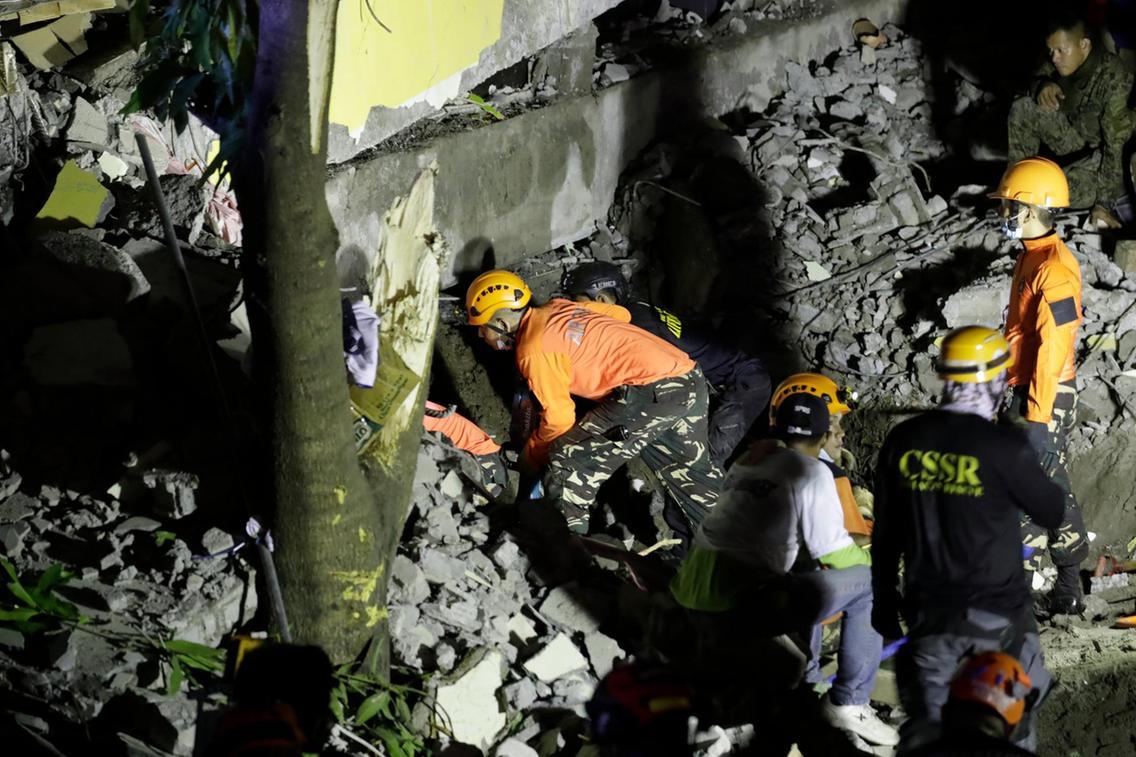 Philippines Hai ngày hai trận động đất, nhiều người thương vong