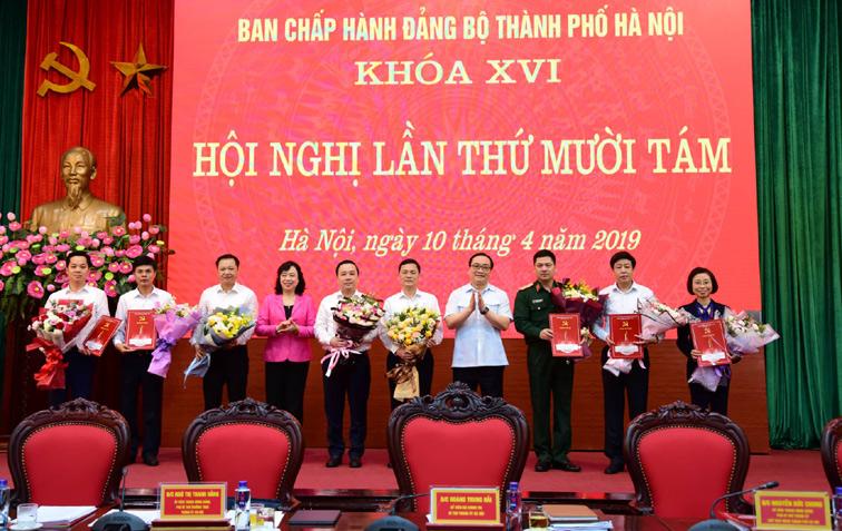 Kiện toàn nhân sự Ban Thường vụ, Ban Chấp hành Đảng bộ TP Hà Nội