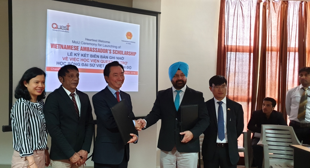 Ra mắt Chương trình Học bổng Đại sứ Việt Nam tại Ấn Độ