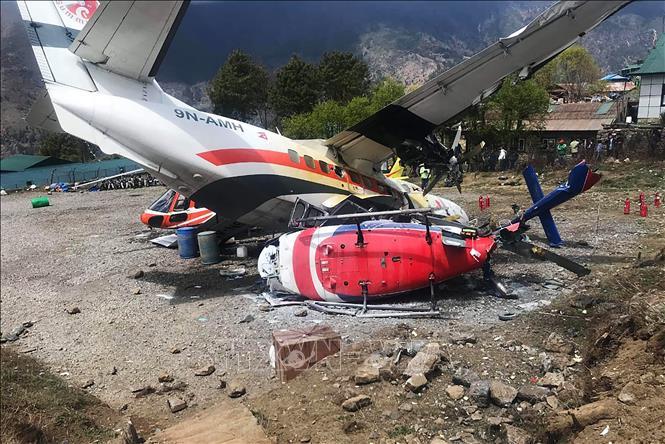Nepal Va chạm máy bay, ít nhất 2 người thiệt mạng
