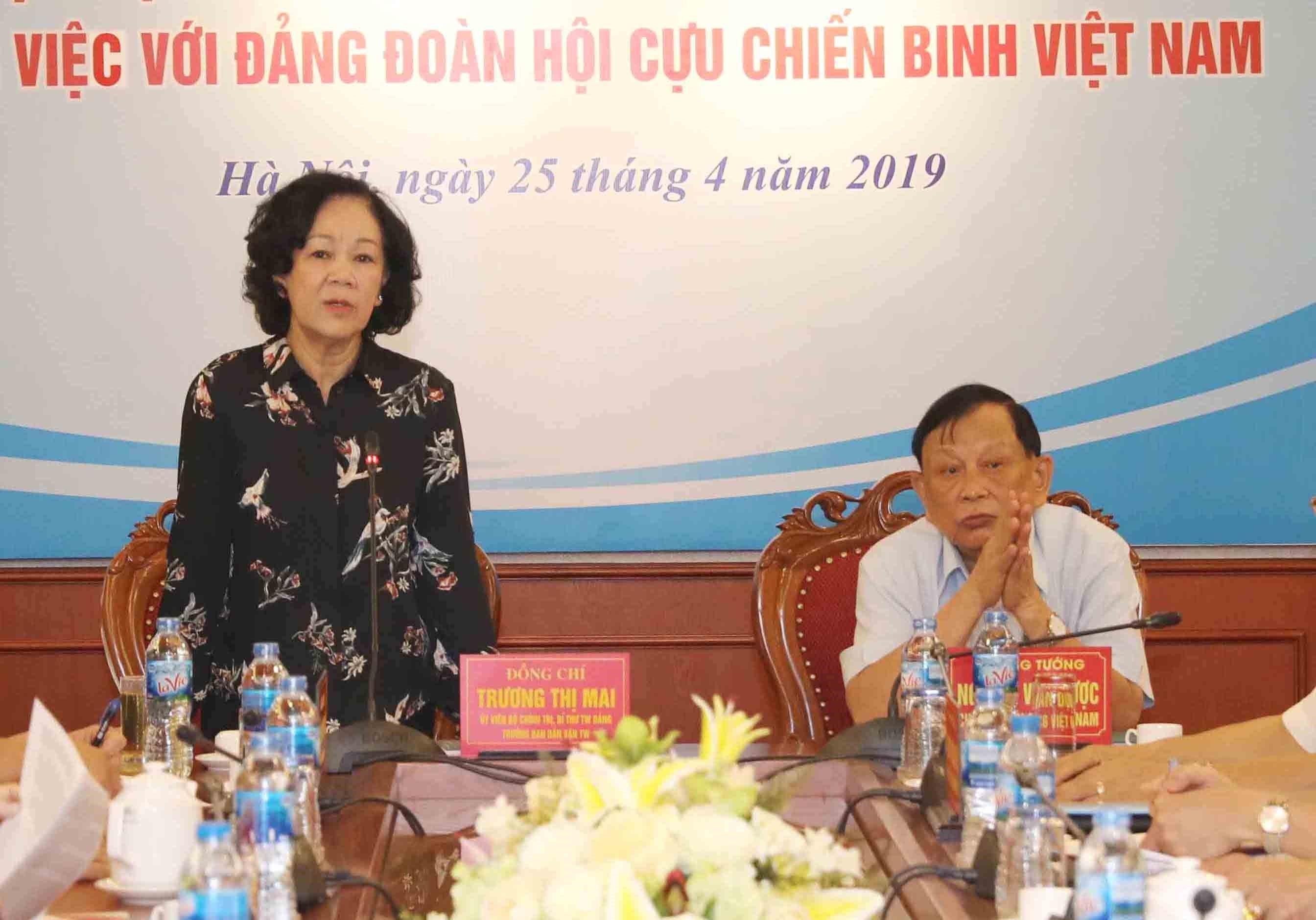 Hội Cựu chiến binh Việt Nam chủ động thực hiện tốt công tác dân vận