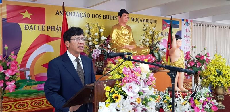 Cộng đồng người Việt Nam tại Mozambique tổ chức Đại lễ Phật đản