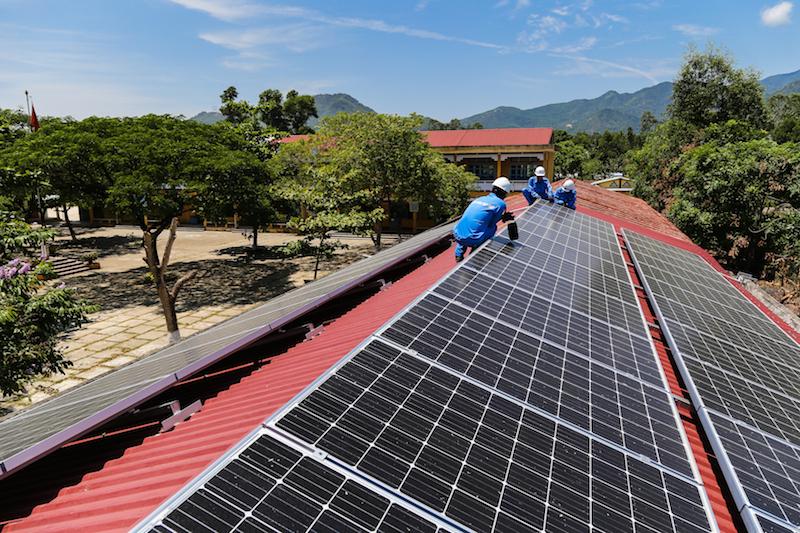 EVNCPC đẩy mạnh hợp đồng mua bán điện mặt trời trên mái nhà