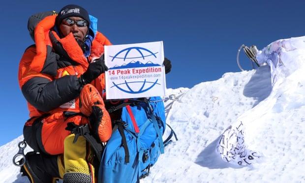 Người đàn ông Nepal 24 lần chinh phục đỉnh Everest