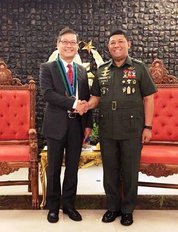 Tăng cường quan hệ quốc phòng giữa Việt Nam và Philippines