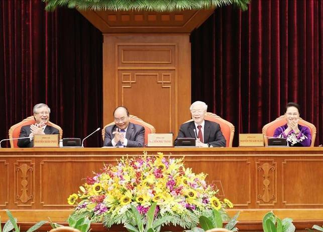 Ngày làm việc thứ nhất của Hội nghị Trung ương 10 khóa XII