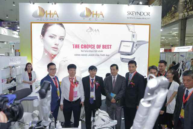 450 đơn vị tham gia Triển lãm Quốc tế chuyên ngành Y dược Việt Nam lần thứ 26