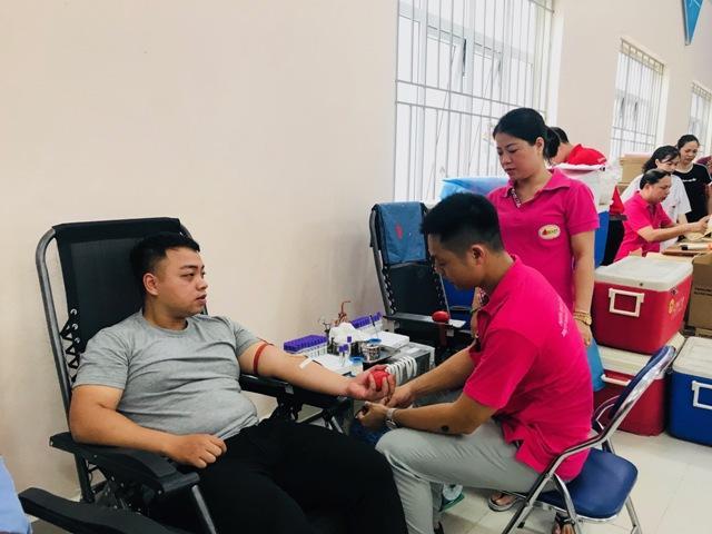6 tháng đầu 2019, quận Ba Đình Hà Nội vận động 3 568 3 275 đơn vị máu