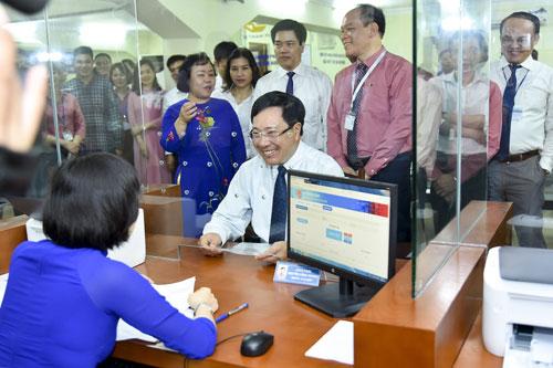 Khai trương Bộ phận Một cửa giải quyết thủ tục hành chính của Bộ Ngoại giao
