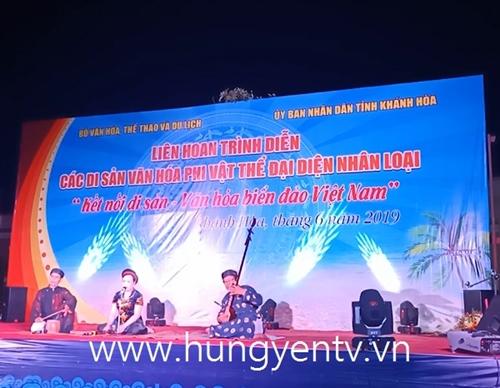 Hưng Yên đoạt giải xuất sắc Liên hoan trình diễn các Di sản văn hóa phi vật thể