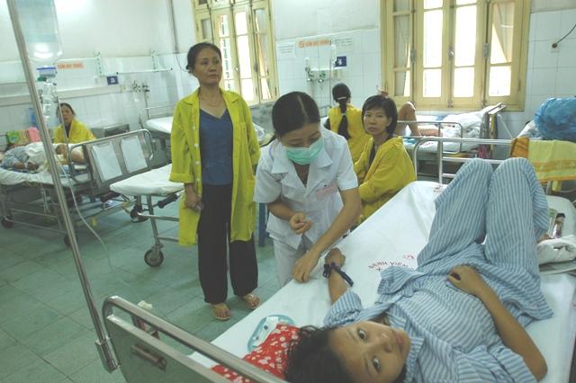 Hà Nội Tăng cường công tác y tế phòng, chống nắng nóng