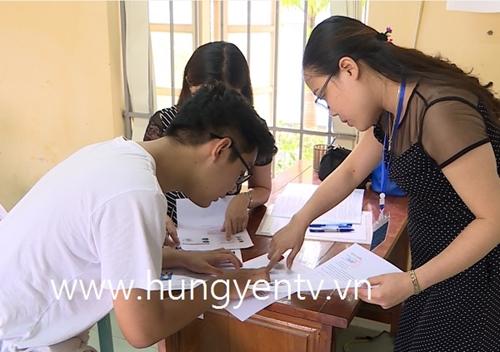 Hơn 12 400 thí sinh Hưng Yên làm thủ tục dự thi THPT Quốc gia 2019
