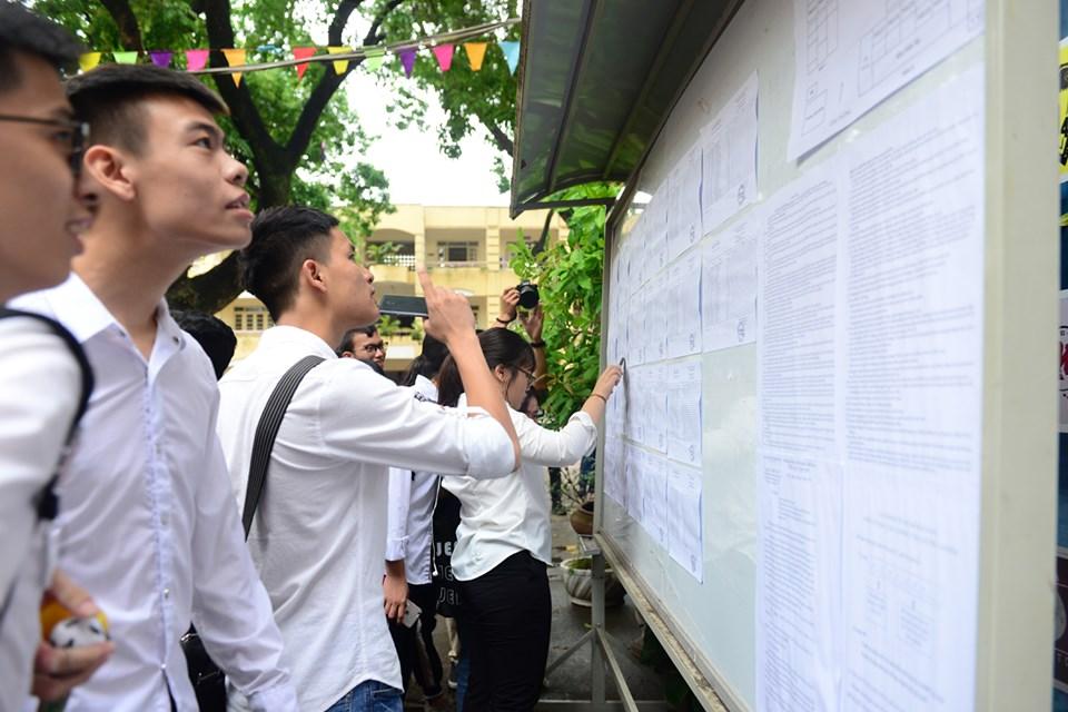 Hơn 887 000 thí sinh làm thủ tục dự thi THPT quốc gia