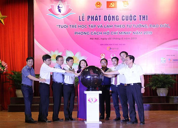 """Phát động Cuộc thi """"Tuổi trẻ học tập và làm theo tư tưởng, đạo đức, phong cách Hồ Chí Minh"""" năm 2019"""