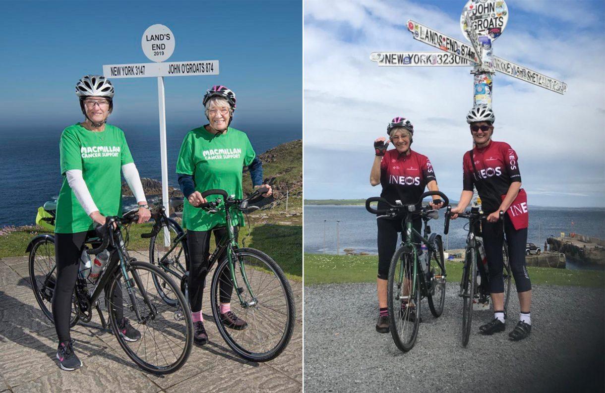 Cụ bà 81 tuổi đạp xe hơn 1 500 km suốt chiều dài nước Anh