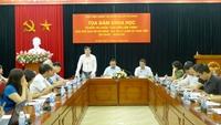 Quán triệt sâu sắc hơn nữa tư tưởng Hồ Chí Minh về đạo đức cách mạng