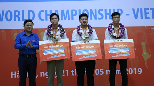 Hưng Yên có 1 học sinh đoạt giải Vô địch tin học văn phòng thế giới