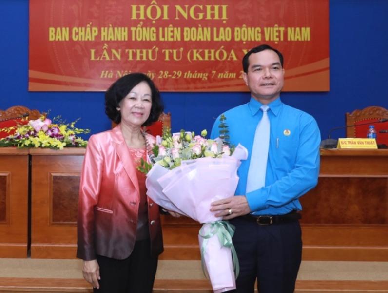 Đồng chí Nguyễn Đình Khang giữ chức Chủ tịch Tổng Liên đoàn lao động Việt Nam 🎥