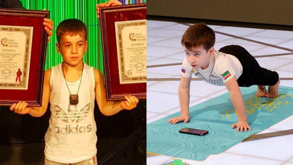 Cậu bé lập kỷ lục thế giới với số lần chống đẩy được 4 618 cái