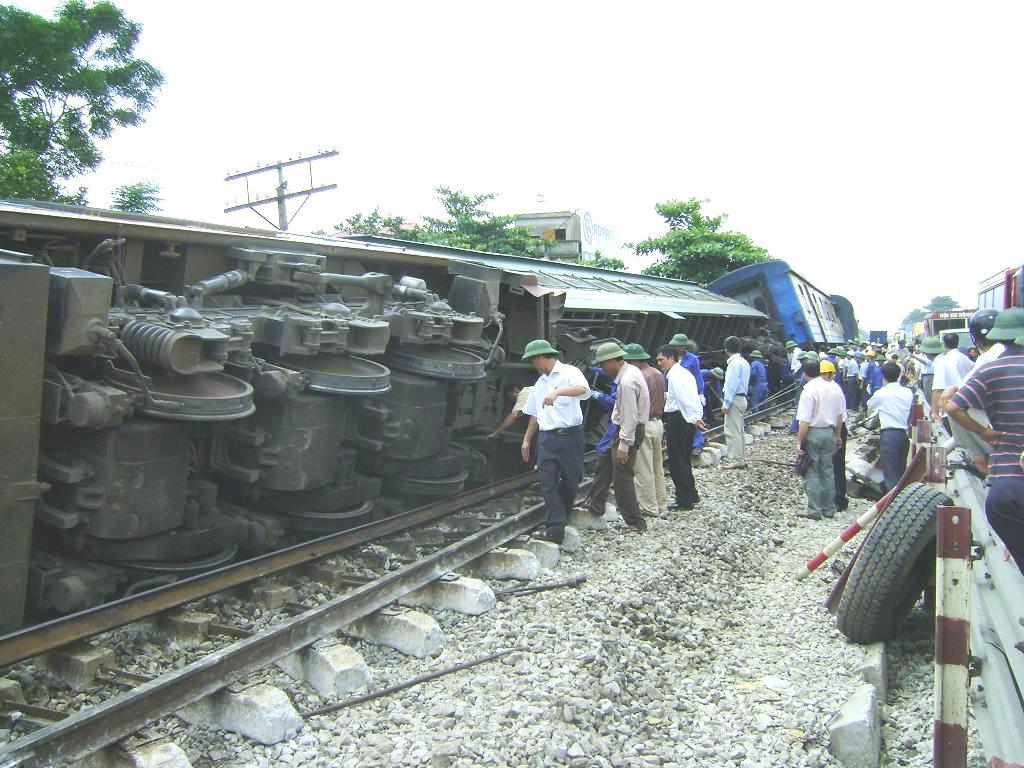 Hà Nam Báo động nguy cơ tai nạn đường sắt