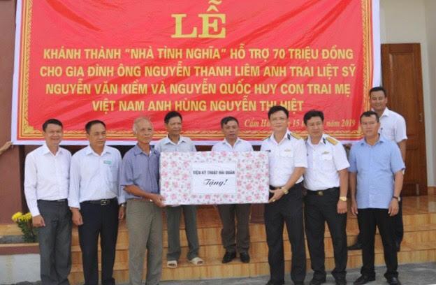 Chương trình Xuân Trường Sa hỗ trợ xây dựng nhà tình nghĩa tại Hà Tĩnh