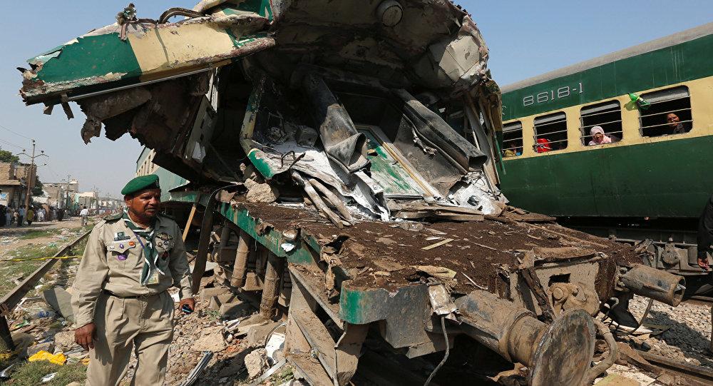 Pakistan Tai nạn đường sắt nghiêm trọng khiến gần 80 người thương vong