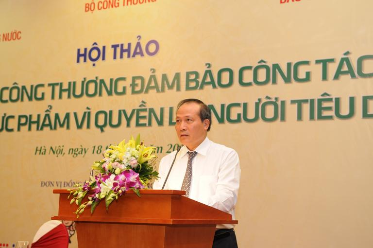 Ngành Công Thương đảm bảo công tác an toàn thực phẩm vì quyền lợi người tiêu dùng