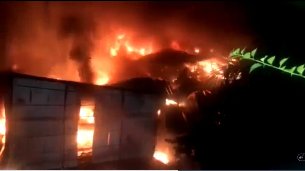 Hà Nội Cháy lớn tại Công ty Bóng đèn phích nước Rạng Đông