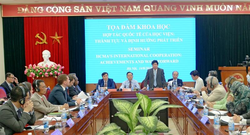 Tăng cường hiệu quả hợp tác quốc tế gắn với chiến lược phát triển