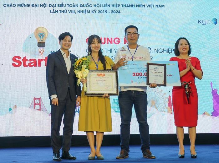 TripHunter giành giải nhất Cuộc thi Ý tưởng khởi nghiệp sáng tạo