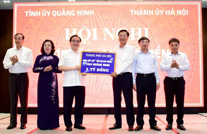 Hà Nội - Quảng Ninh Thúc đẩy hợp tác, phát triển chặt chẽ trên nhiều lĩnh vực