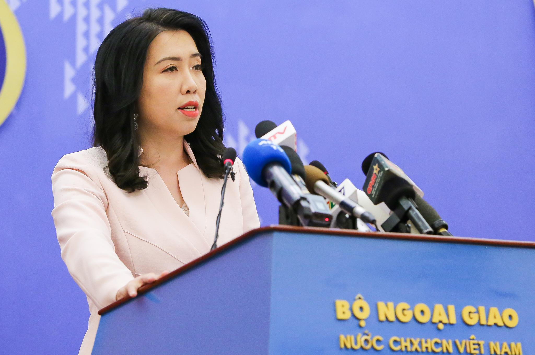 Nhóm tàu Hải Dương 8 dừng hoạt động ở vùng đặc quyền kinh tế và thềm lục địa của Việt Nam