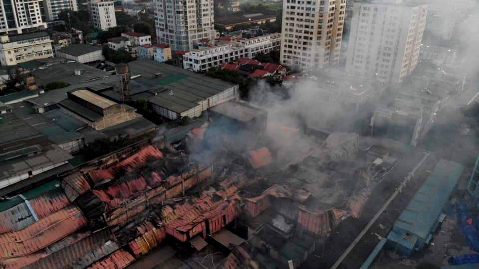 Điều tra nguyên nhân vụ cháy tại Công ty Bóng đèn phích nước Rạng Đông 